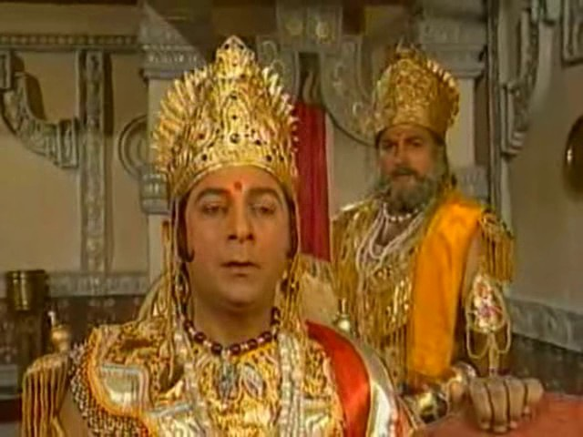 Махабхарата I Mahabharat - 61 Серия из 94 (1988-1990)