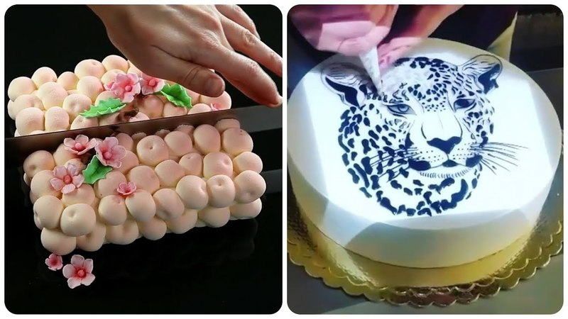 Yummy 😍 Video for the Sweet tooth 🍰 Amazing Cake Decorating Ideas 2018 🎂 Oddly Satisfying Videos