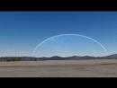 Если бы огромное зеркало находилось на высоте полета МКС над Землей
