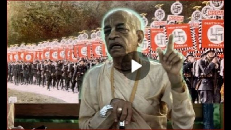 Teach Devotees Military Art To Counteract Jewish Communism Says Prabhupada