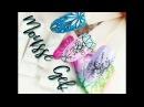 💅 Mousse Gel Indigo 💅:: Proste Ornamenty 3D i Ombre żelami Mousse Gel :: Odette Swan