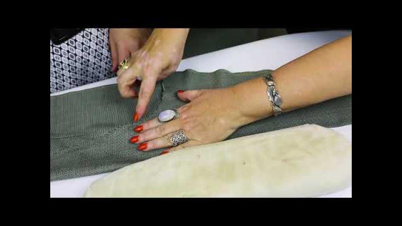 Лекция о посадке брюк Как посадить брюки на фигуру Формование брюк в процессе изготовления Часть 3