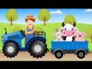 ФЕРМЕР ПЕСЕНКУ ПОЁТ. Как говорят животные - Old McDonald had a farm. Наше всё!