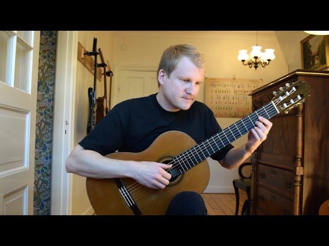 Alborada - Francisco Tarrega (Acoustic Classical Guitar Cover by Jonas Lefvert)