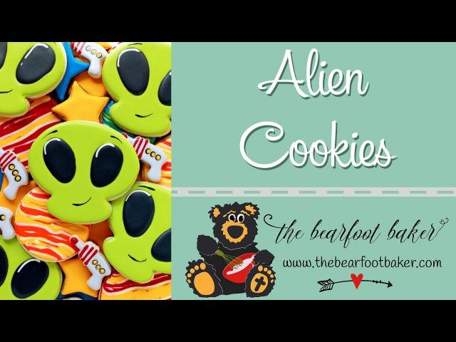 How to Make Alien Cookies | The Bearfoot Baker
