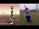 Веселый Танец Зеленого Человечка Tanz mit Hase - Прикольный Танец Hase Dame Tu Cosita Challenge