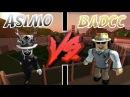 Asimo3089 vs Badcc Roblox Jailbreak Edition
