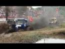 «Бизон-Трек-Шоу» под Ростовом состоялись гонки на тракторах