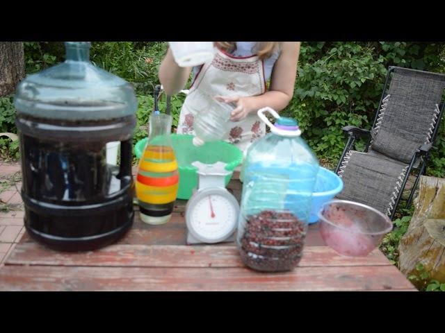 Как сделать домашнее вино просто и вкусно