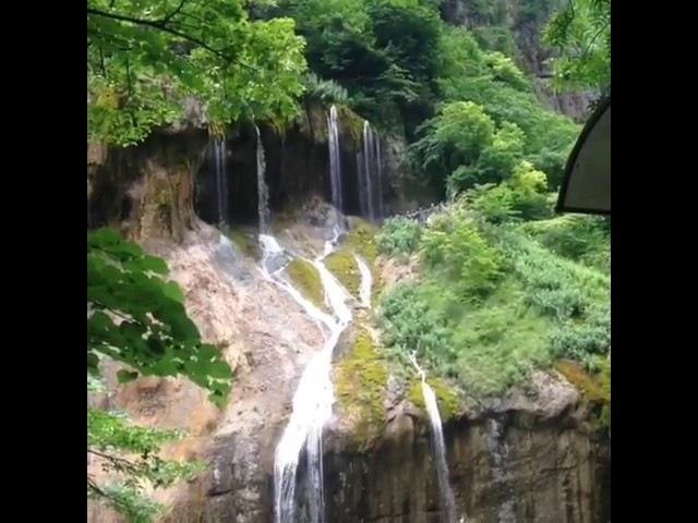 Кабардино Балкария! 👍 Чегемские водопады 😍 Какая красота! Многие и не зная живут в Раю