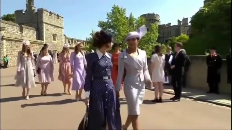 Приянка Чопра на королевской свадьбе Принца Гарри и Меган Маркл