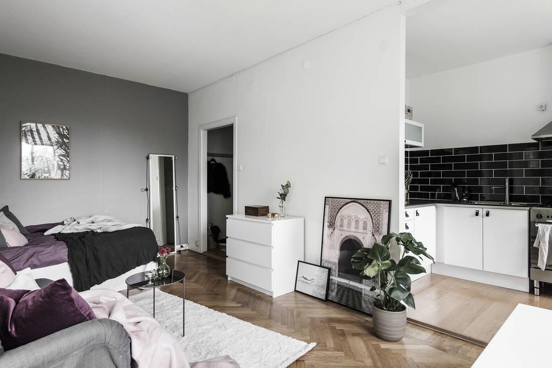 Скандинавская квартира-студия 32 м.