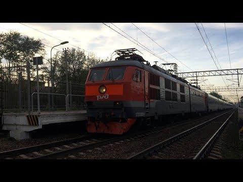 Электровоз ЧС200-004 с поездом №747 «Невский Экспресс»