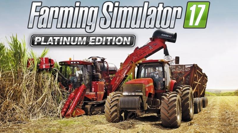 Стрим 17 по Farming Simulator 17 - Platinum Expansion (КООП), карта Estancia Lapacho.