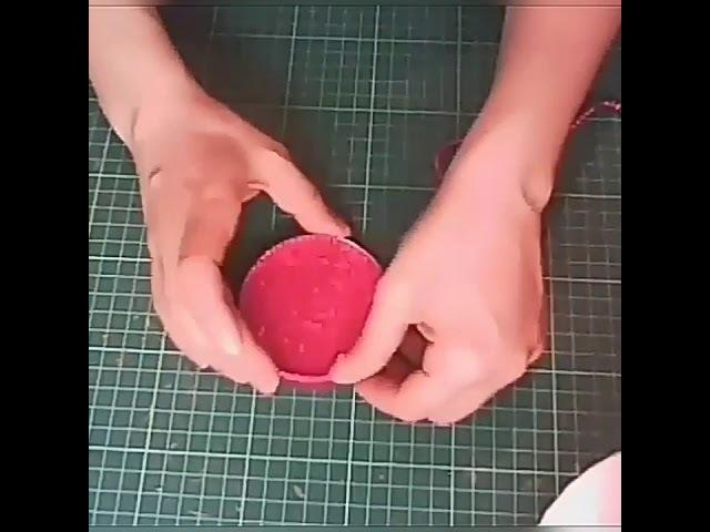 .Оригинальный подарок своими руками Лак для ногтей из конфет