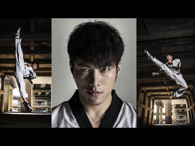 САМЫЙ КРУТОЙ и ОПАСНЫЙ КОРЕЕЦ, МАСТЕР ТХЭКВАНДО - Shin Min Cheol