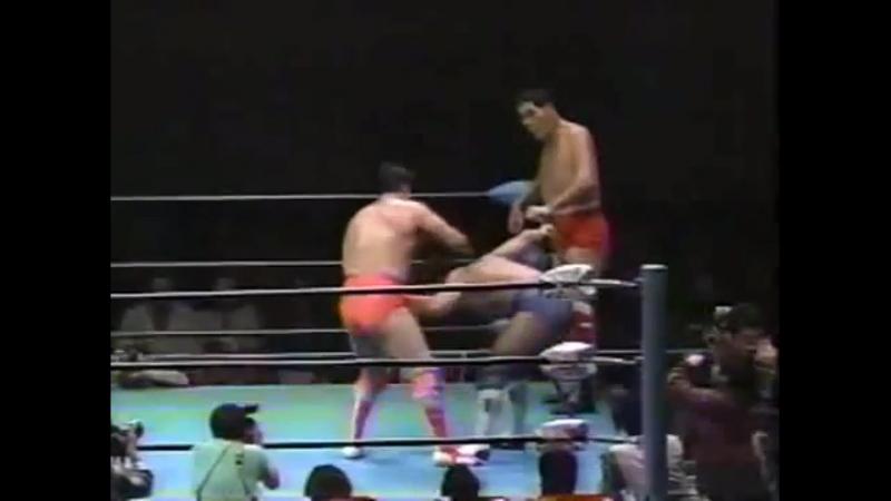 Kenta Kobashi-Mitsuharu Misawa vs. Giant Baba-Jun Akiyama (JIP) 24.01.1996