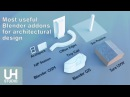 The most useful Blender addons for architectural design