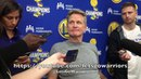 Entire KERR interview: Steph Curry's ankle as close to 100% as can be, Durant/Klay/Draymond update