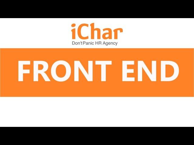 Online-завтраки с iChar | Говорим с frontend-разработчиком на одном языке