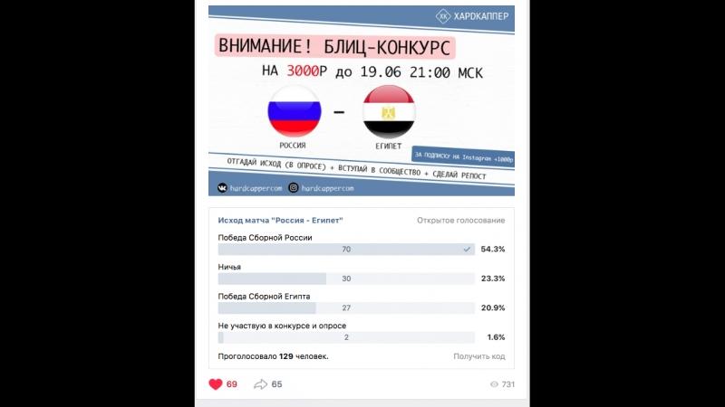 Определение победителя в Блиц- конкурсе от ХАРDКАППЕР 19.06.18