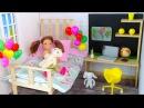 Как сделать Домик для Куклы Своими руками Мультик Барби Игрушки для девочек