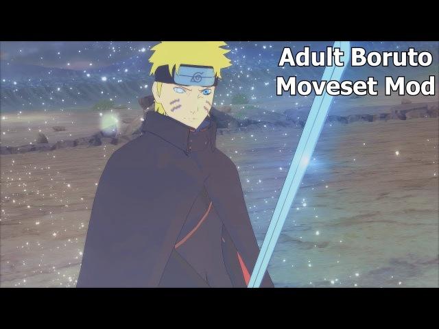 Naruto Ninja Storm 4 Road to Boruto PC MOD 60 FPS - Adult Boruto vs Adult Sasuke Moveset Mod 1080p