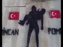 POLİS OKULU ÖĞRENCİLERİNİN ÇANAKKALE ŞEHİTLERİ İÇİN HAZIRLADIĞI GÖSTERİ