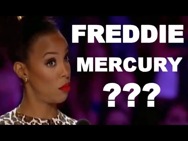 FREDDIE MERCURY is NOT DEAD? FREDDIE MERCURY VOICE, FREDDIE MERCURY X FACTOR & GOT TALENT WORLDWIDE