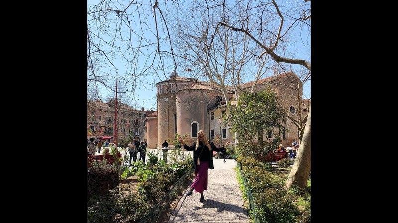 АННА СЕМЕНОВИЧ! Венеция! В этом городе я особенно счастлива!
