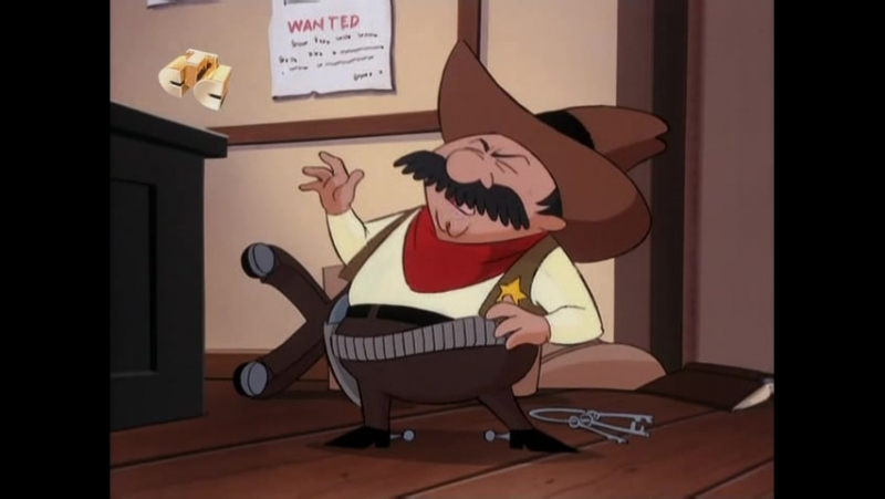Бешеный Джек пират.11(1,2) Великий Вулкан! The Great Kapow!, Снак находится в розыске The Snuk, The Mad and the Ugly