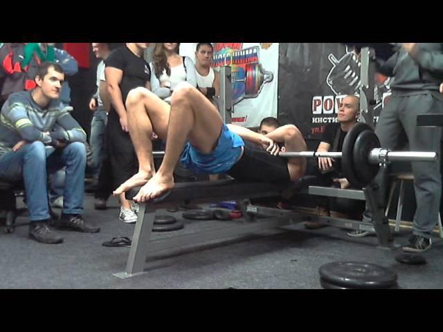 Лапаев В, 75на57, СВ=81,20 кг, Класс Русский Жим, 02.12.2012