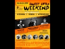 SWEET AFRO WEEKEND 06-08.2018 WITH URBANKIZZ