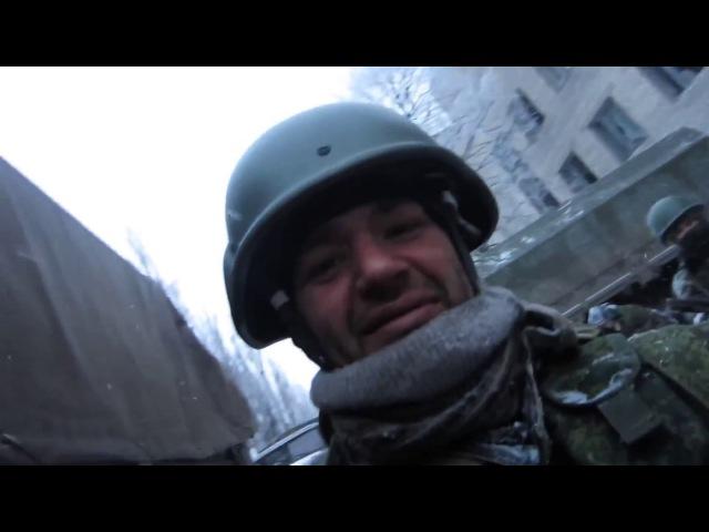 Ополченцы ОРБ ЛНР и добровольцы России перед шурмом Дебальцево. Муз: Thud ~ John Deley