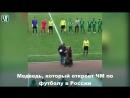 Медведь который откроет ЧМ по футболу в России