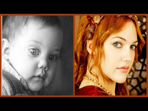 Мерьем Узерли (Хюррем султан) в детстве. ❤А взгляд все тот же❤