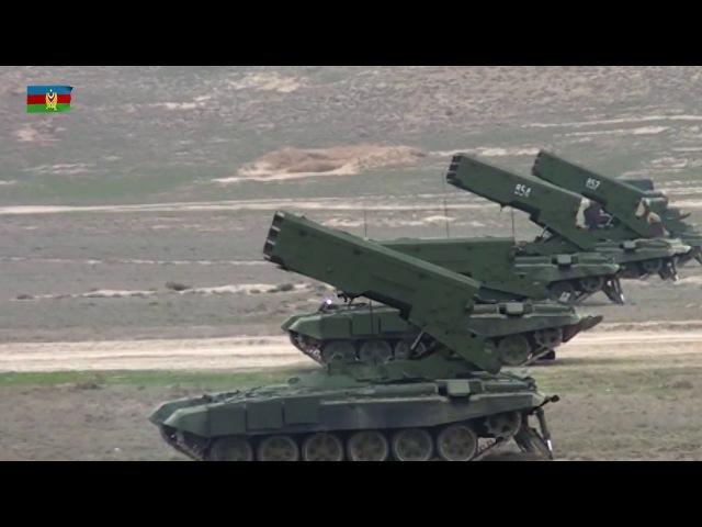 Raket və Artilleriya Qoşunlarının təlimlərə cəlb edilən silah və hərbi texnikasına baxış keçirilib