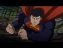 Бэтмен и Зеленый Фонарь против Супермена - Бой