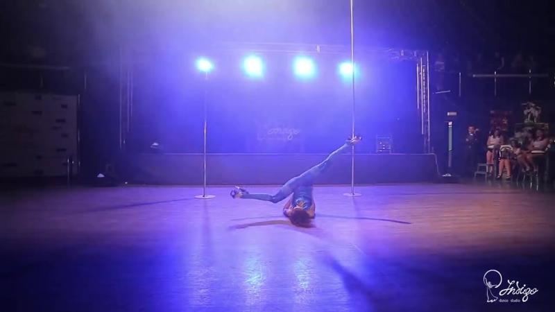 Ольга Панаева, Стрип-пластика! Indigo Dance Studio Отчетный концерт 2015!