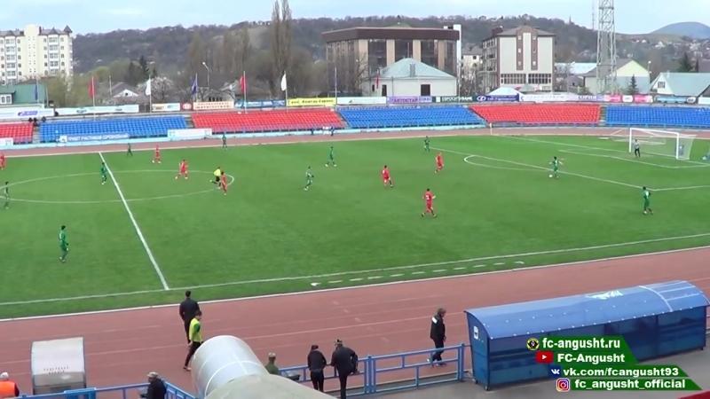 Обзор победного матча 27 тура Машук КМВ Ангушт