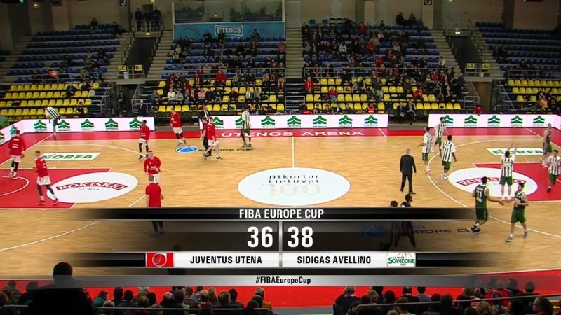 Ювентус - Авеллино (Еврокубок ФИБА 2017-2018) четвертьфинал