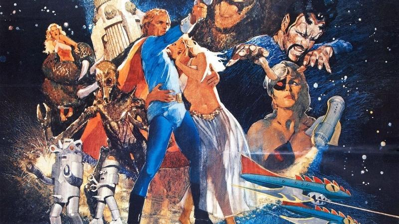 Флэш Гордон 1974 Алексеев VHS
