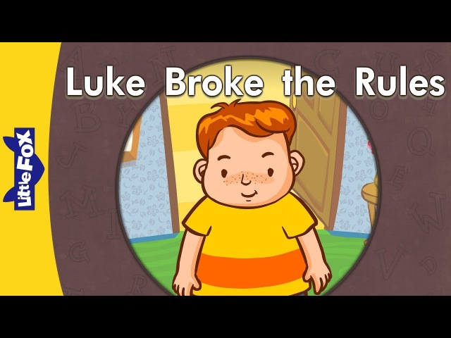 'u_e' words: Luke Broke the Rules | Level 3 | By Little Fox