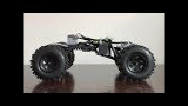 Lego Technic Cactus Crawler with SBrick and BuWizz