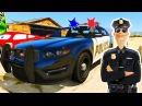 Мультики про Машинки Полицейская и Пожарная Машина Цветные Машинки Детские Мул ...