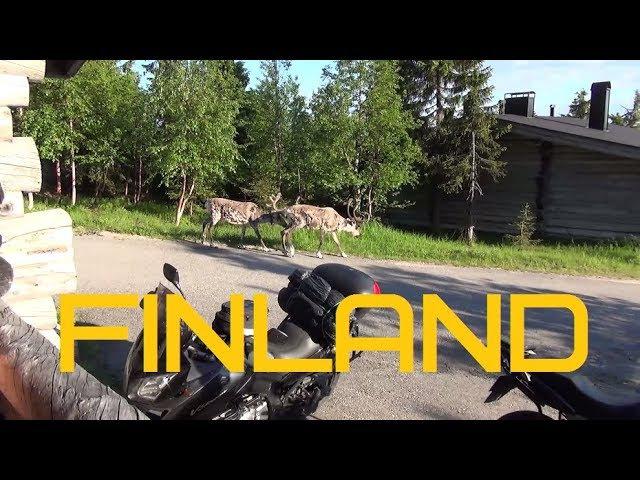 Недельное мотопутешествие по Финляндии (2017) Motorbike tour in Finland