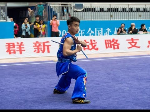 男子双节棍 第七名 深圳队 陈大炫 8.79分