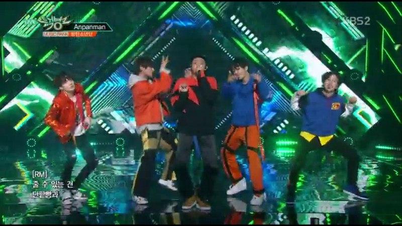 BTS (방탄소년단) - ANPANMAN(뮤직뱅크 컴백무대)