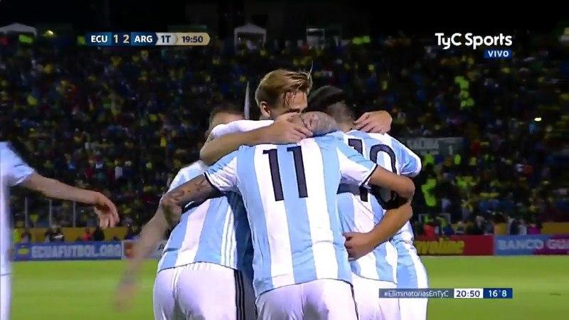 Ecuador 1 Argentina 3 - Eliminatorias Rusia 2018 - TyC Sports (Rodolfo De Paoli)