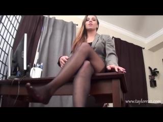 Sasha Foxx JOI HD POV sexy feet stocking pantyhose socks